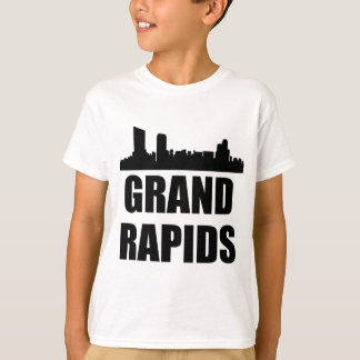 Grand Rapids MI Skyline T-Shirt
