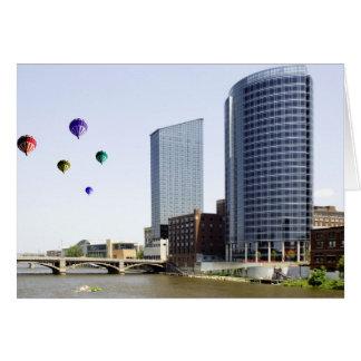 Grand Rapids Michigan Greeting Card