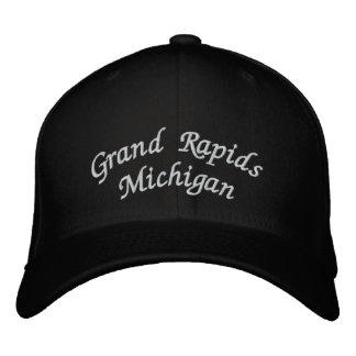 Grand Rapids Michigan Embroidered Baseball Cap