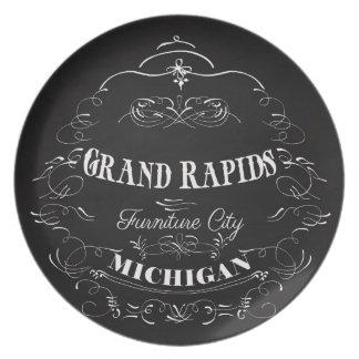 Grand Rapids, Michigan - Furniture City Plate
