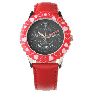 Grand Rapids, Michigan - Furniture City Wrist Watch