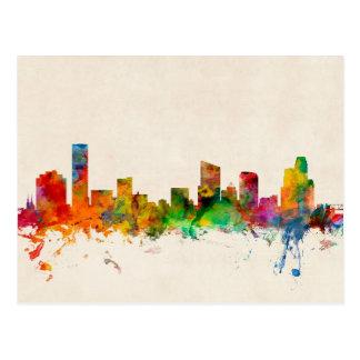 Grand Rapids Michigan Skyline Cityscape Postcard