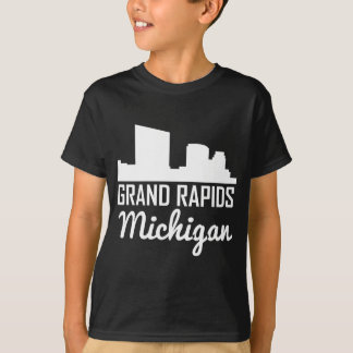 Grand Rapids Michigan Skyline T-Shirt