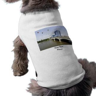 Grand Rapids Michigan Sleeveless Dog Shirt