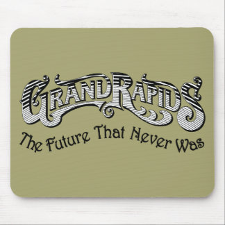 Grand Rapids Mouse Pad - The Future That Never Was
