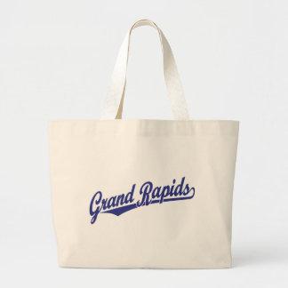 Grand Rapids script logo Bags