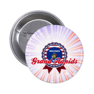 Grand Rapids, WI Pinback Button