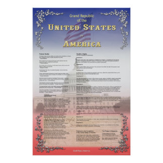 Grand Republic of the USA Poster