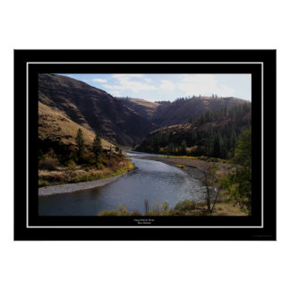 Grand Ronde River, Troy, Oregon Poster