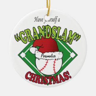 Grand Slam Christmas Ornament