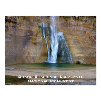 Grand Staircase Escalante National Monument Postcard