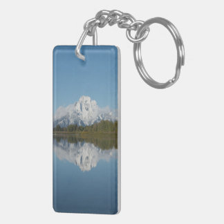 Grand Teton and Mount Moran keychain