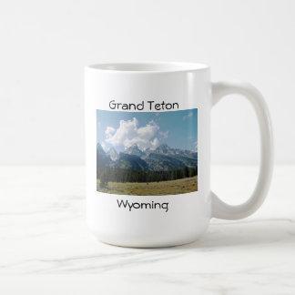 Grand Teton Basic White Mug