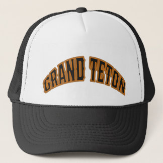 Grand Teton Bear Logo Hat