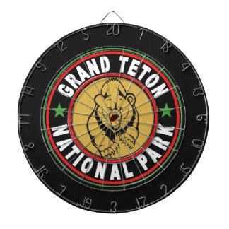 Grand Teton Black Circle Dart Boards