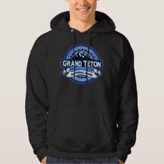 Grand Teton Blue Logo Hoodie