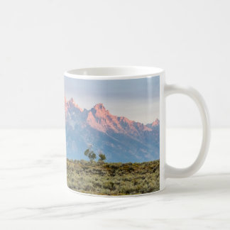 Grand Teton Coffee Cup Basic White Mug