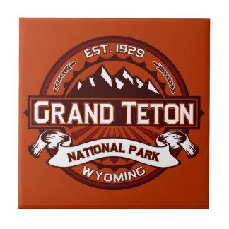 Grand Teton Crimson Tile