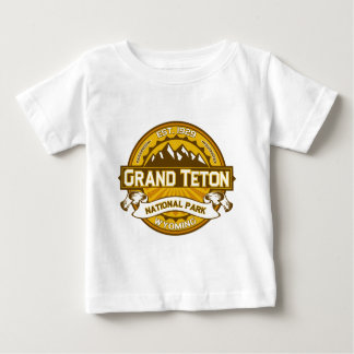 Grand Teton Goldenrod Baby T-Shirt
