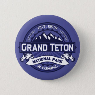 Grand Teton Midnight 6 Cm Round Badge