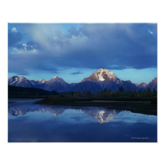 Grand Teton mountain range 2 Poster