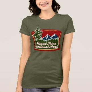 Grand Teton Mountain Tree Logo T-Shirt