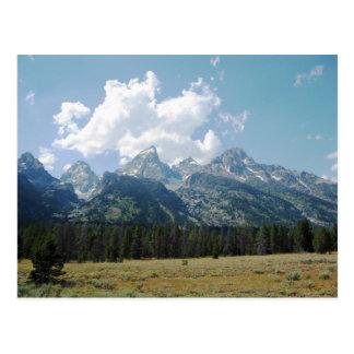 Grand Teton Mountains Postcard