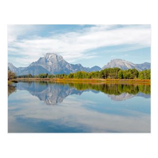 Grand Teton Mountains Postcard