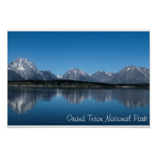 Grand Teton Nation Park Poster