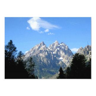 Grand Teton National Park 13 Cm X 18 Cm Invitation Card