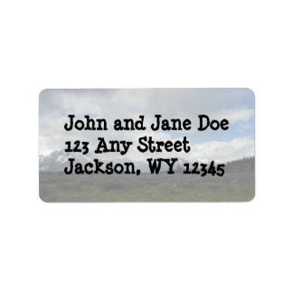 Grand Teton National Park Address Labels