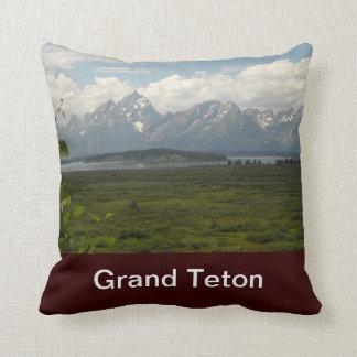 Grand Teton National Park American MoJo Pillow