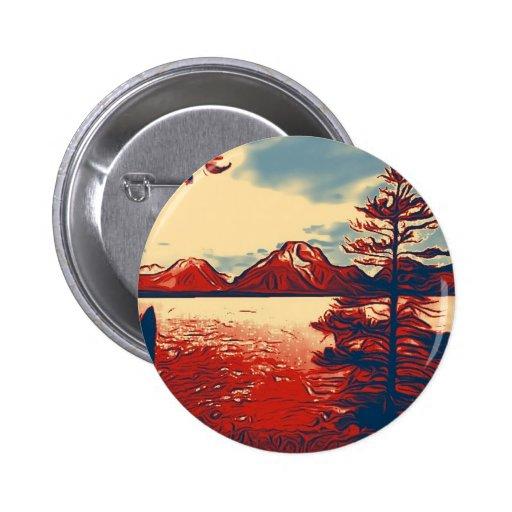 Grand Teton National Park Art Pins