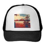 Grand Teton National Park Art Trucker Hats