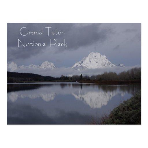 Grand Teton National Park - Cards Postcard