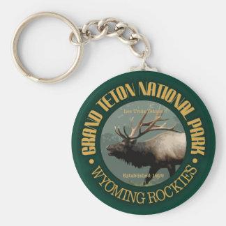Grand Teton National Park (elk) Key Ring