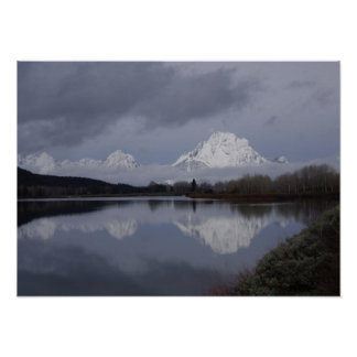 Grand Teton National Park giclee on canvas Poster