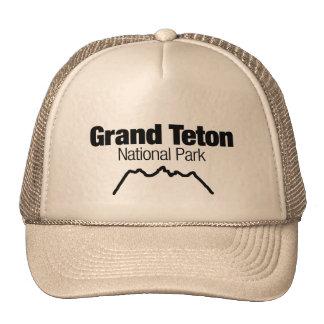 Grand Teton National Park Mesh Hats