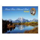 Grand Teton National Park in Wyoming Postcard