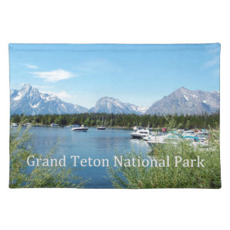 Grand Teton National Park landscape photography. Placemat