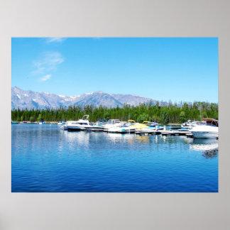Grand Teton National Park landscape photography Poster