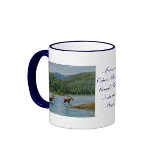 Grand Teton National Park Ringer Mug