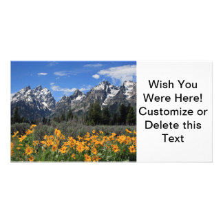 Grand Teton National Park Custom Photo Card