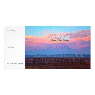 Grand Teton National Park Customized Photo Card