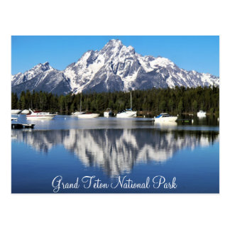 Grand Teton National Park Postcard