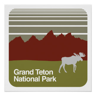 Grand Teton National Park Poster