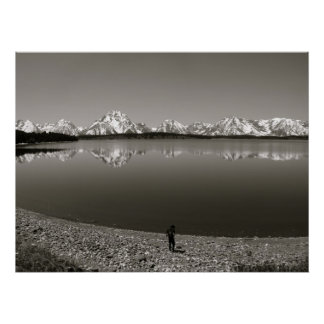 Grand Teton National Park Scenic View Poster