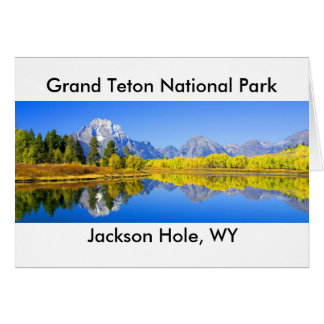 Grand Teton National Park Series 1 Card