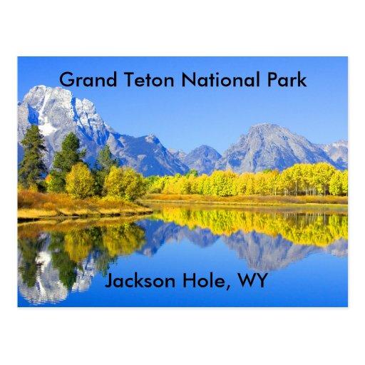 Grand Teton National Park Series 1 Post Card