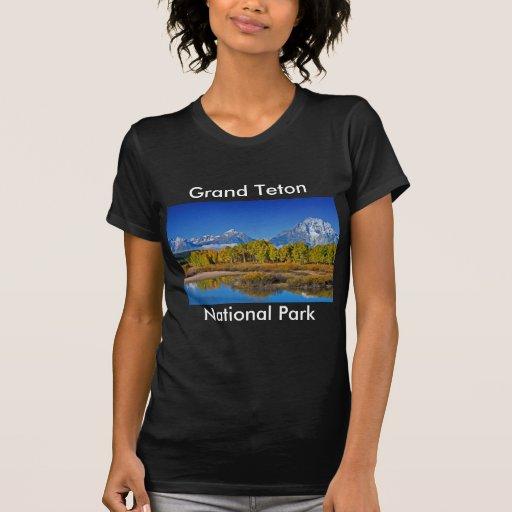 Grand Teton National Park Series 3 Tee Shirts